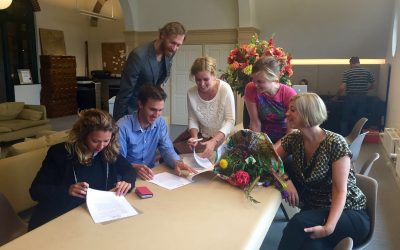 Rooftop Revolution en Let it Grow gaan samenwerken!