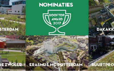 Daknominaties Rooftop Award 2017