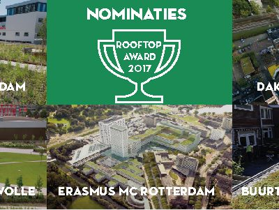 Daknominaties Rooftop Award 2017