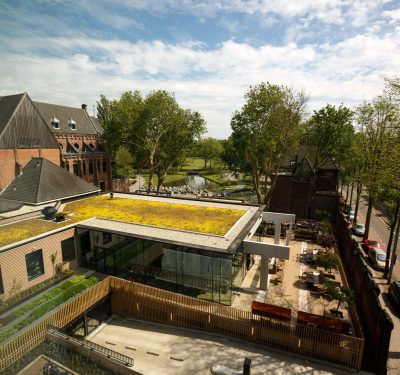 Hotel Arena omarmt het Oosterpark