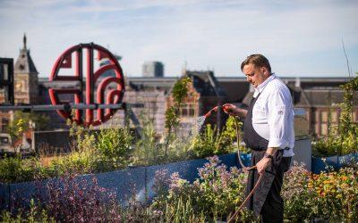 Restaurant Vermeer verbouwt producten op het dak!
