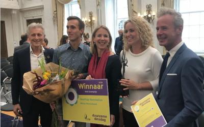 Rooftop Revolution wint VHG Groenprijs op Duurzame Dinsdag