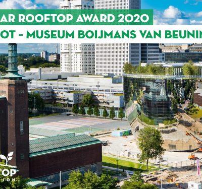 Winnaar Rooftop Award 2020