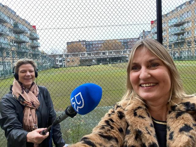 Het dak op met Radio Rijnmond
