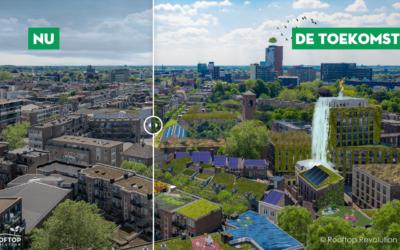 Ruimte voor 60 voetbalvelden extra groen in de binnenstad van Nijmegen!