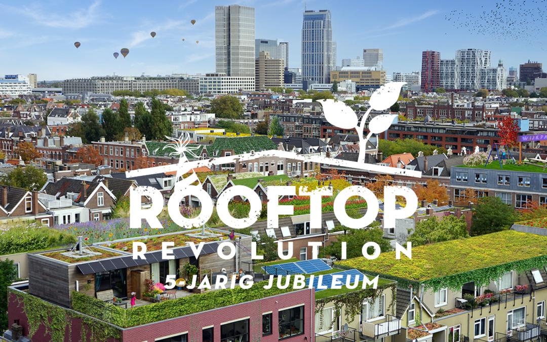 Feest! Rooftop Revolution 5 jaar