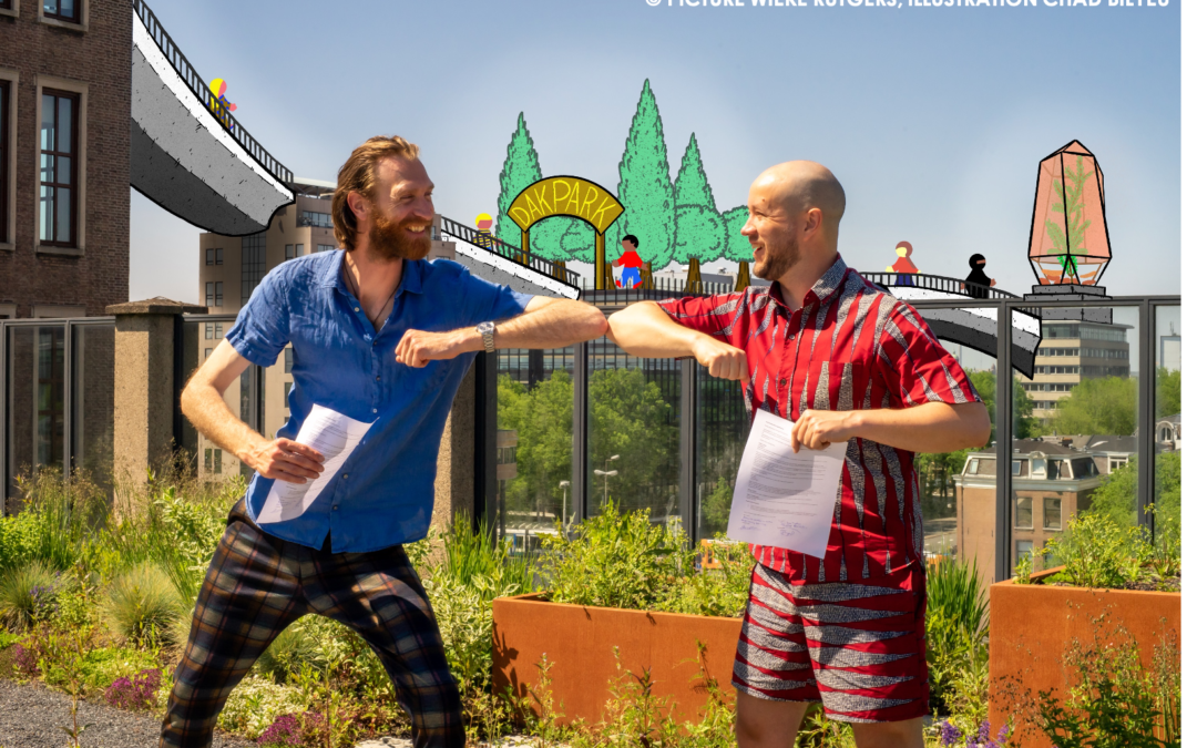 ROEF and Rooftop Revolution make green connection!