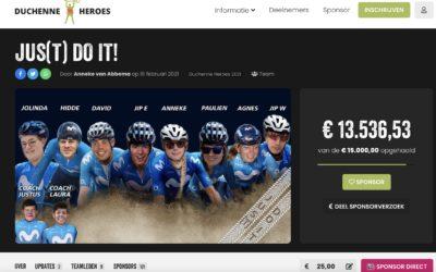 Sponsoring Duchenne Heroes