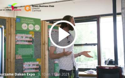 Duurzame Daken Expo Utrecht: Jan Henk over de duurzame Daken Kansenkaart